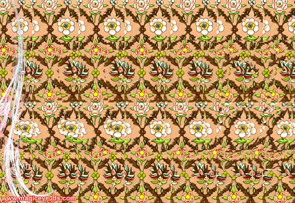 Magic Eye 3D Picture